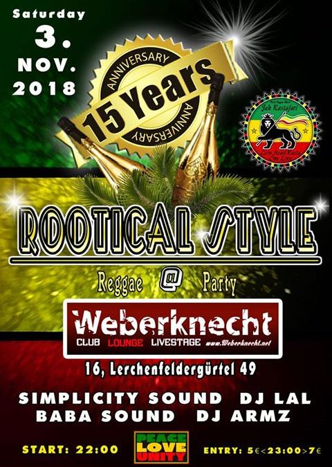 Rootical Style - 15 Years Anniversary