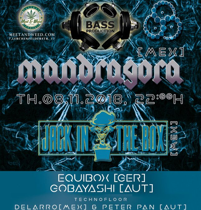 OUT of SPACE presents: MANDRAGORA - 1st time in Vienna