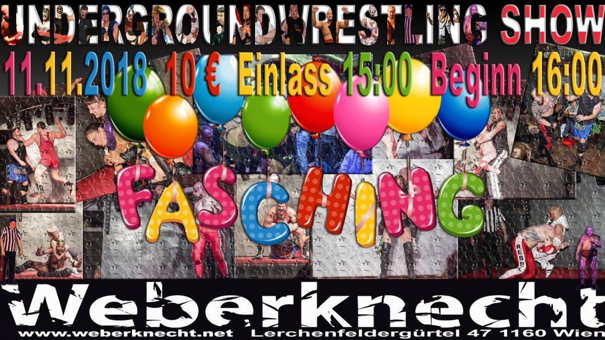 Underground-Wrestling Faschingsshow