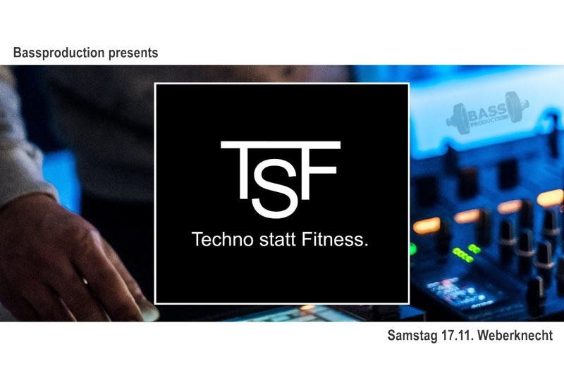 Techno statt Fitness