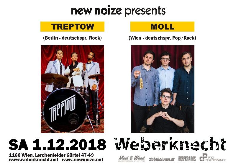 1.12.2018 Treptow & Moll LIVE @ Weberknecht