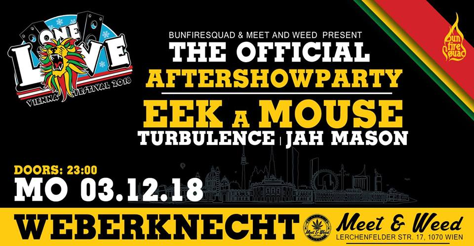 One Love Vienna - Aftershow Party