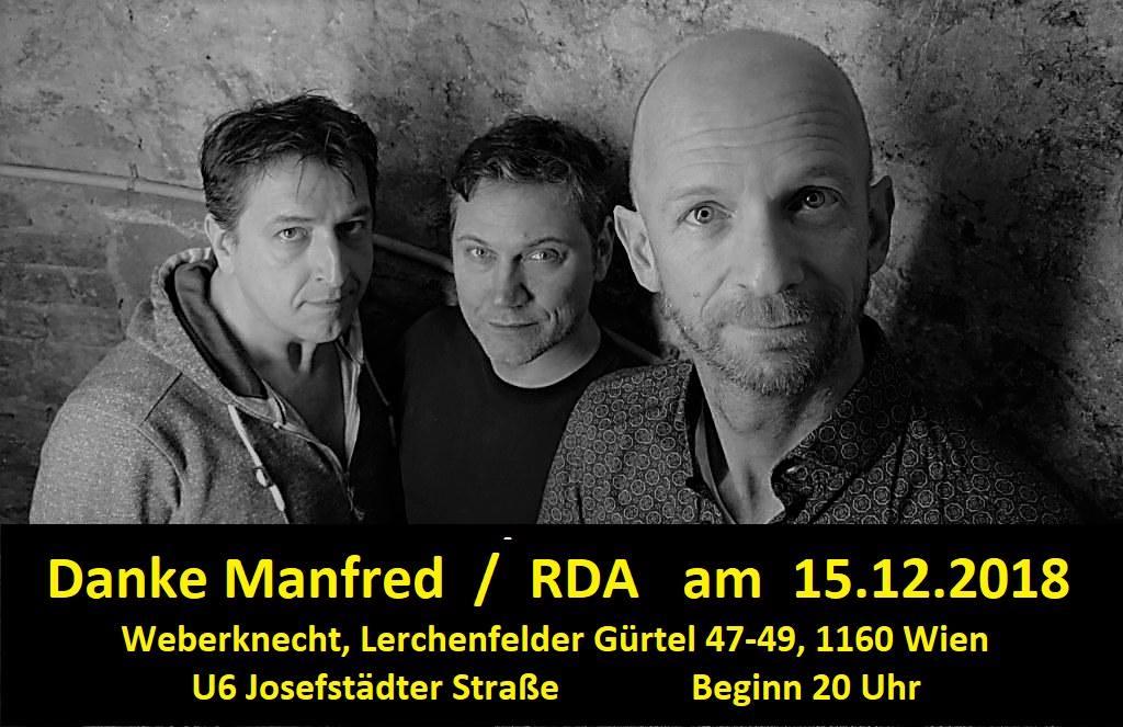 Danke Manfred + RDA