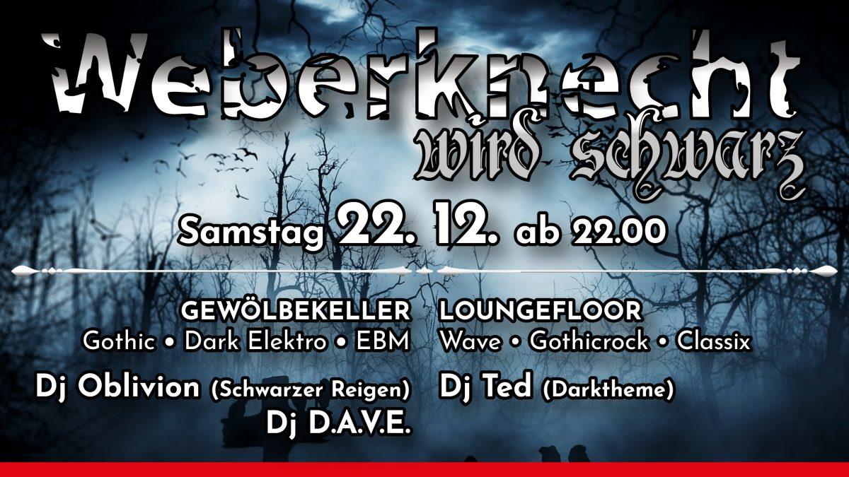 Weberknecht wird schwarz 22.12.2018