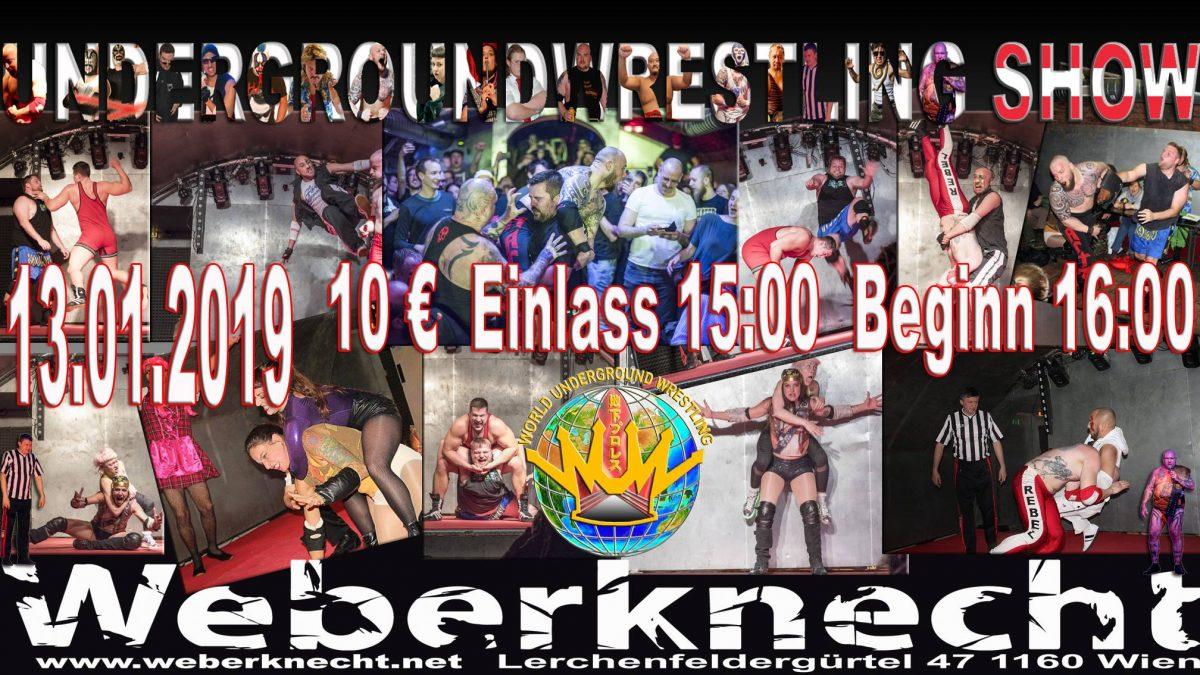 Underground Wrestling 13.1.2019