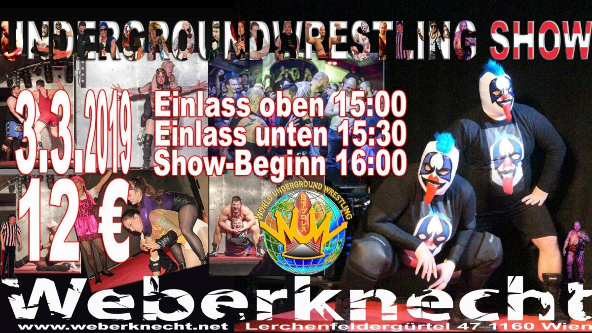 Underground Wrestling 3.3.2019