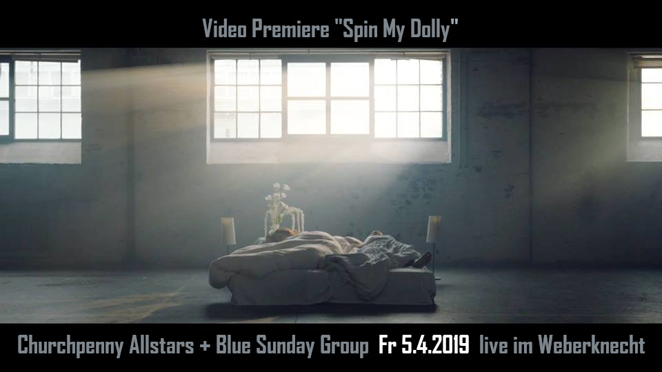"Churchpenny Allstars Video Premiere ""Spin My Dolly"""