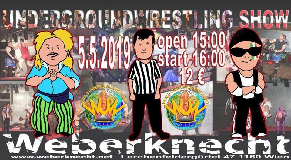 Underground-Wrestling 5.5.2019