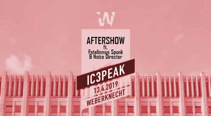 IC3PEAK Aftershowparty