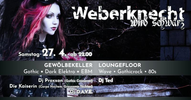 Weberknecht wird schwarz 27.04.2019