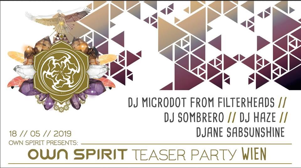 Own Spirit Teaser Party Wien