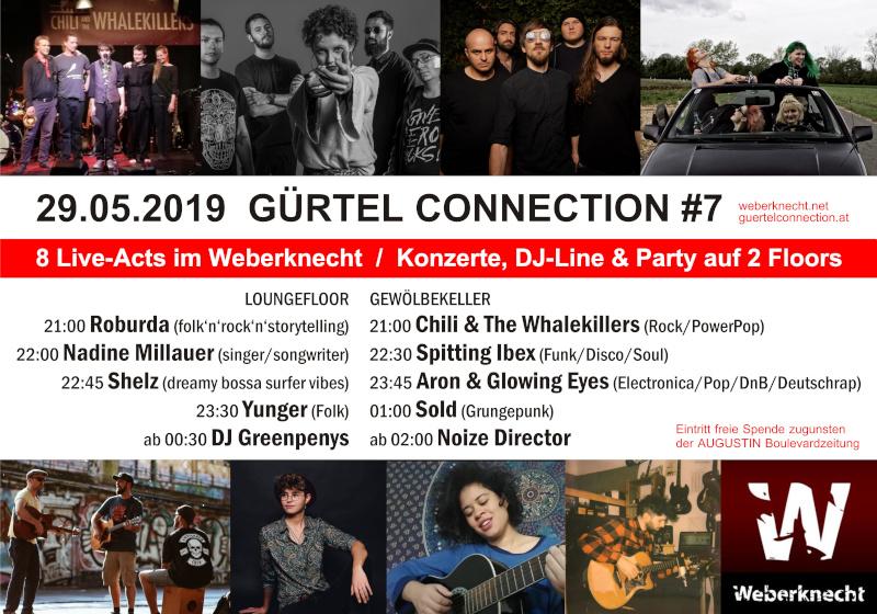 Gürtel Connection #7 | 29.5.2019 @ Weberknecht