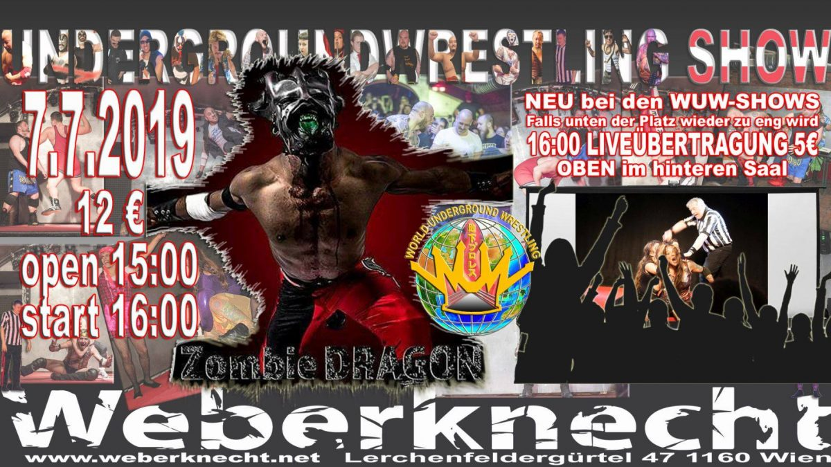 Underground-Wrestling Juli-Show