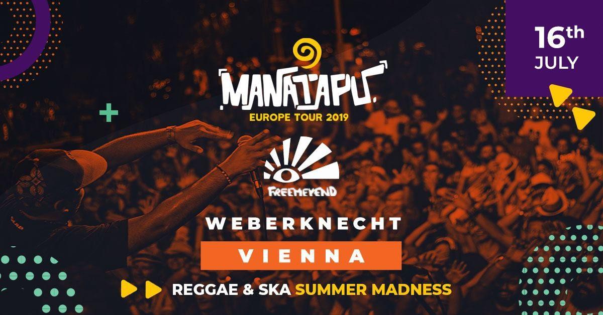 Manatapu (MT)+ Freemeyend @ Reagge & Ska Summer Madness