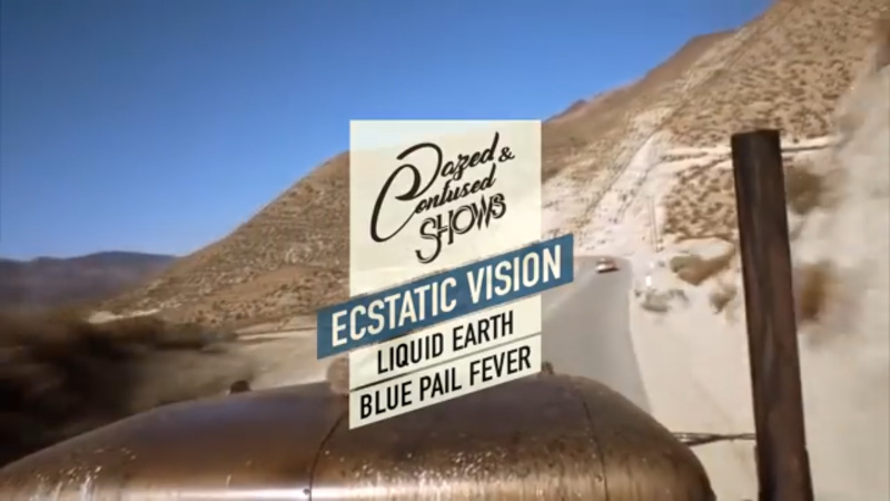 FR 1.11.2019 Live: Ecstatic Vision, Liquid Earth, Blue Pail Fever