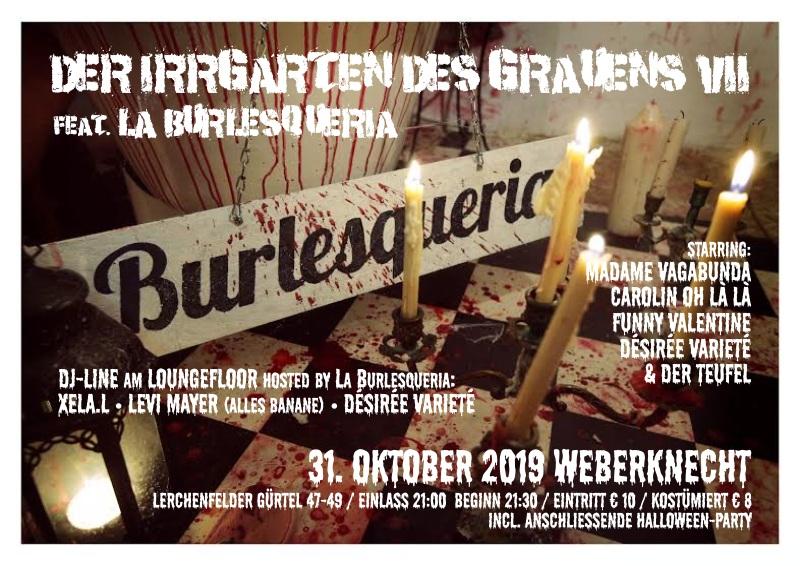 31.10.2019 La Burlesqueria