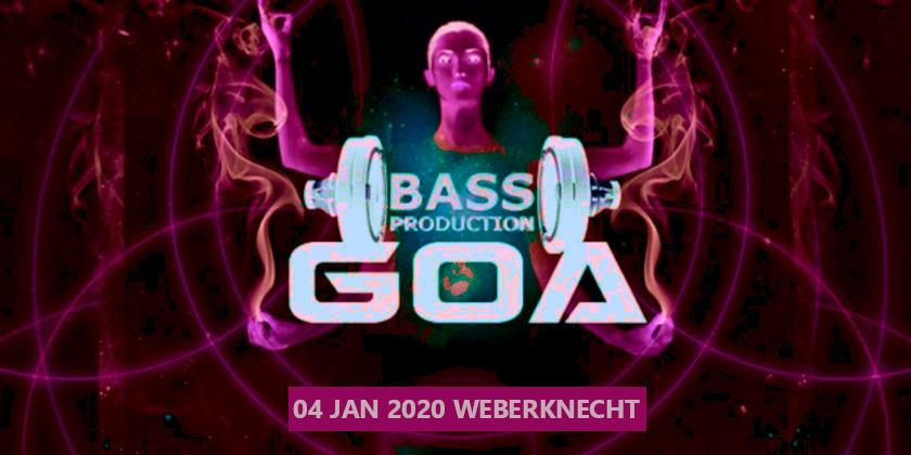 Sa 4.1.2020 Bassproduction Goa Party
