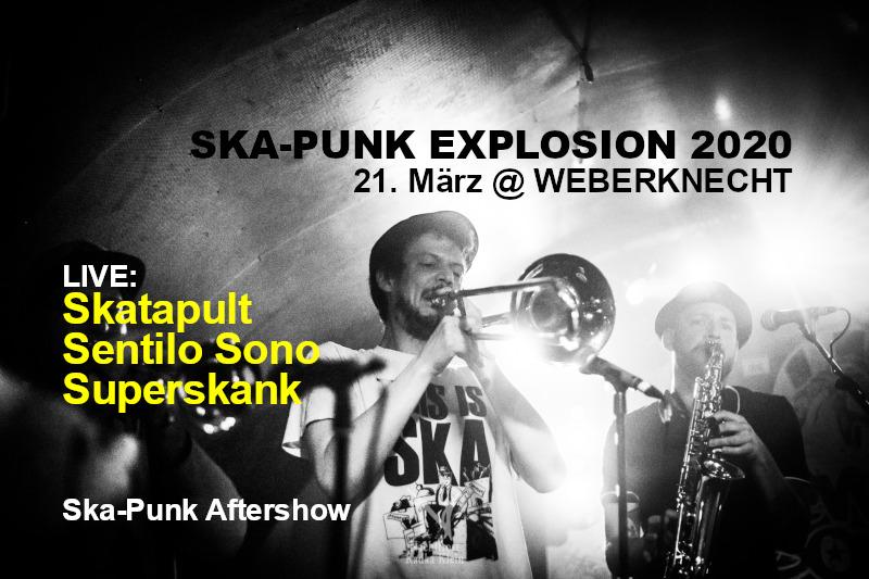 Sa 21.3.2020 Ska-Punk Explosion