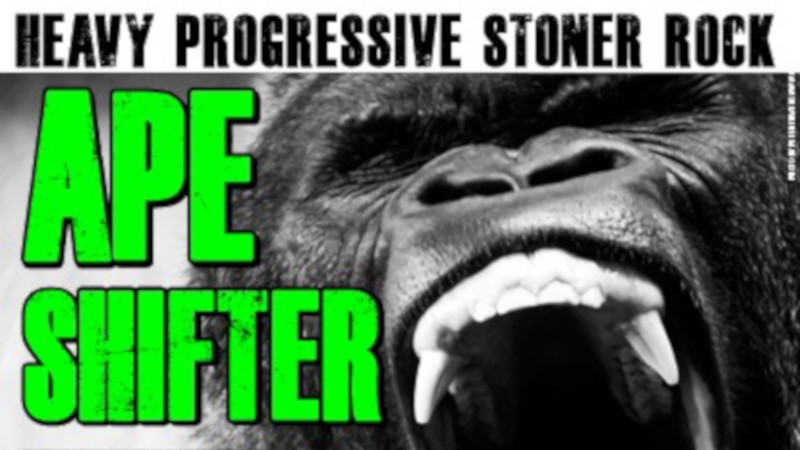 Fr 20.3.2020 Live: Ape Shifter (Heavy Progressive Stoner Rock)